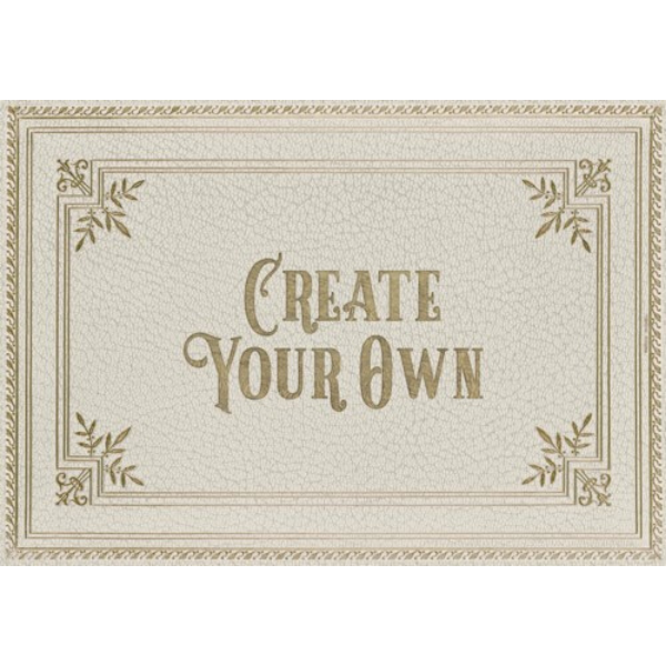 "English Library ""Quarto"" Customized Vinyl Mat"