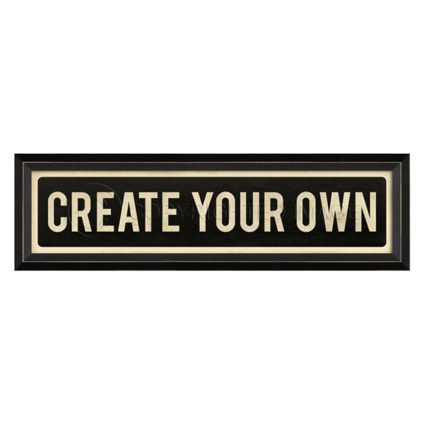 Create Your Own Street Sign Wall Art