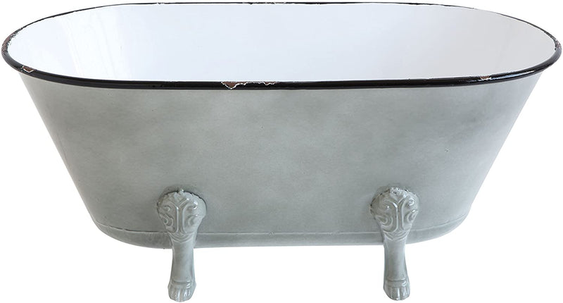 Decorative Metal Bathtub Decor