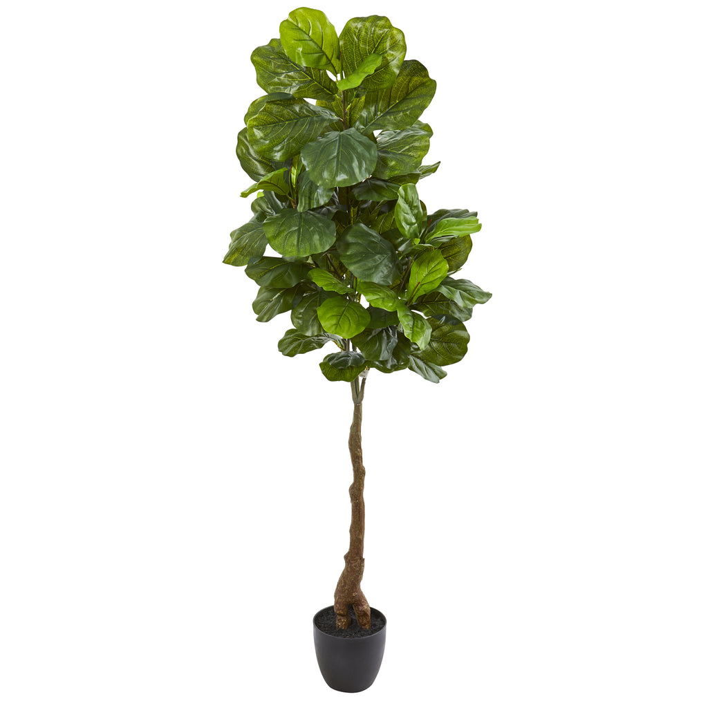 Faux Fiddle Leaf Tree 64""
