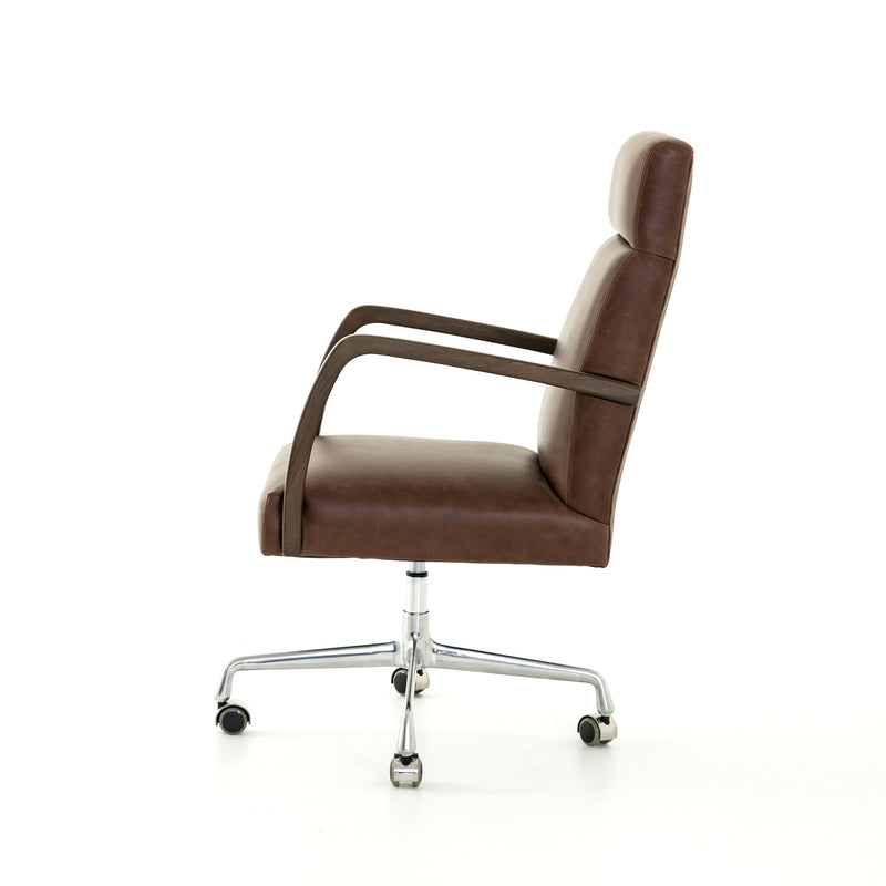 Bryson Top-Grain Leather Desk Chair