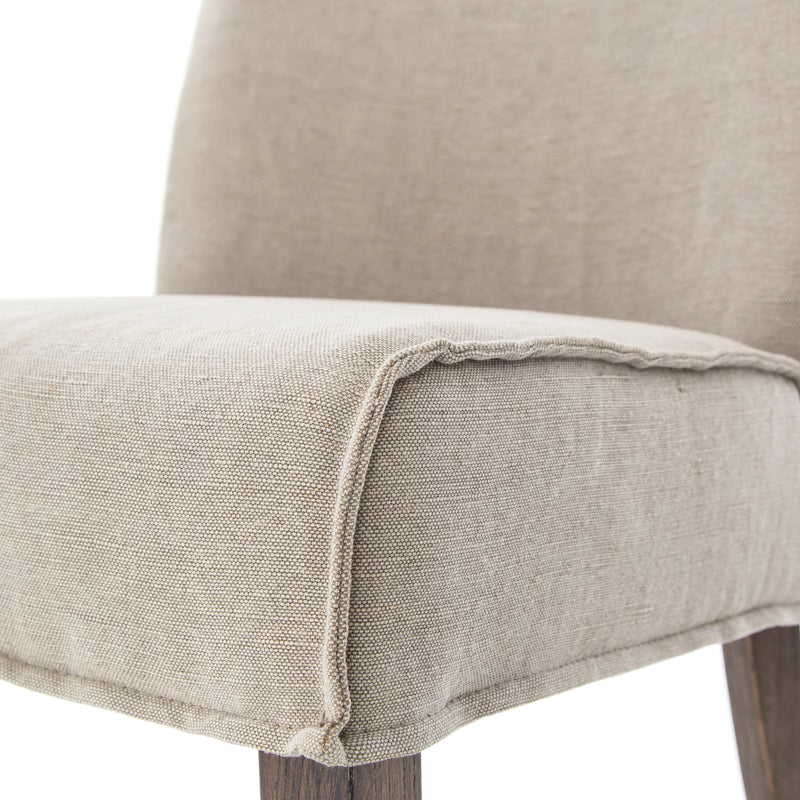 Aria Dining Chair Heather Twill Stone