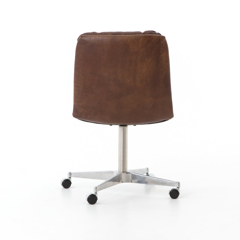 Malibu Leather Desk Chair