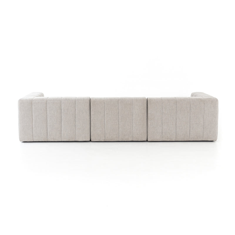 Langham Channeled 3-Pc Sectional-Laf Ch