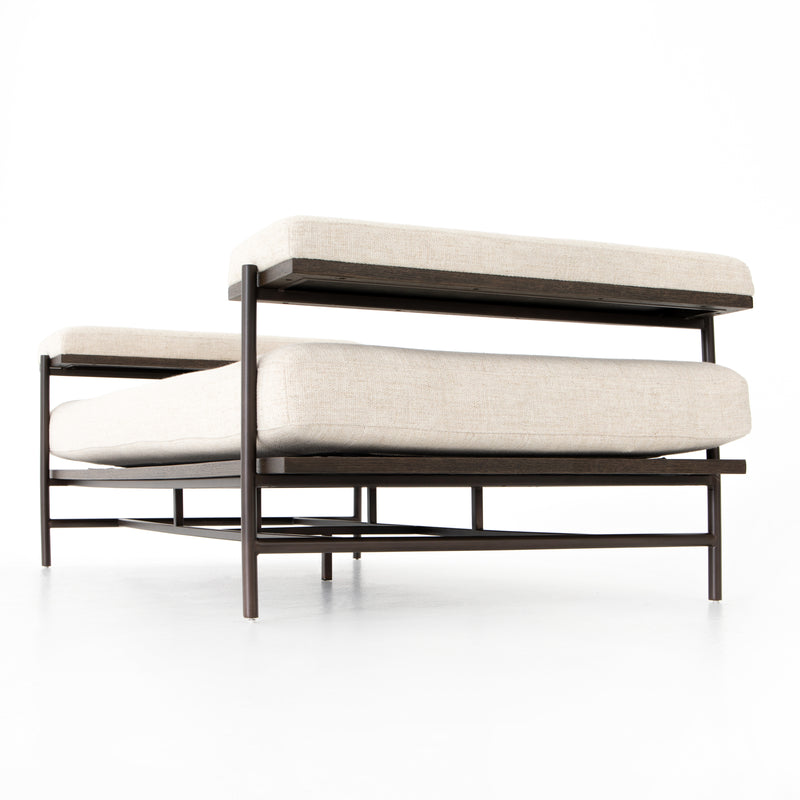 Kennon Chaise-Thames Cream