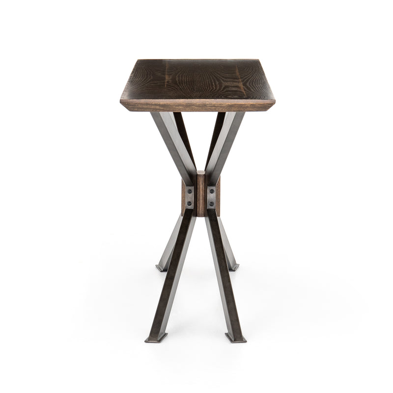Spider Console Table-English Brown