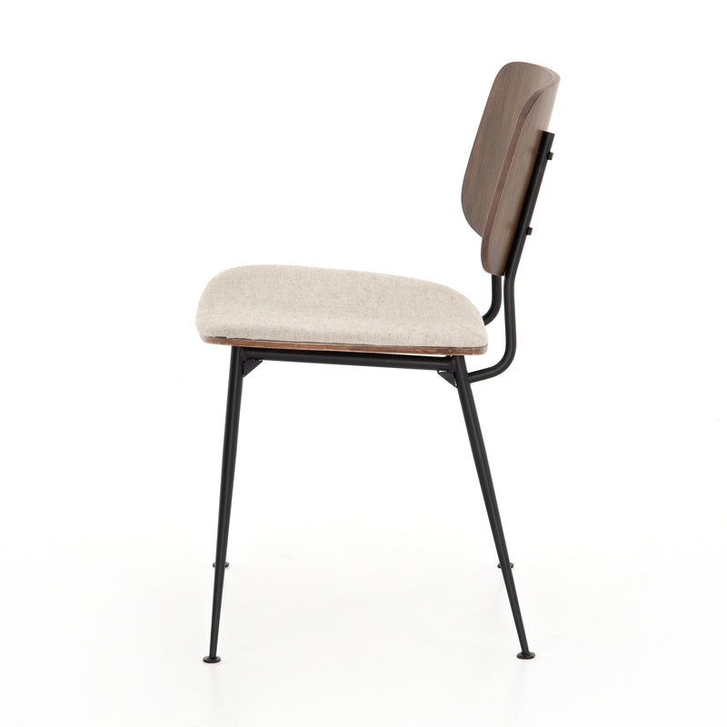 Jared Dining Chair-Acorn/Heavy Linen