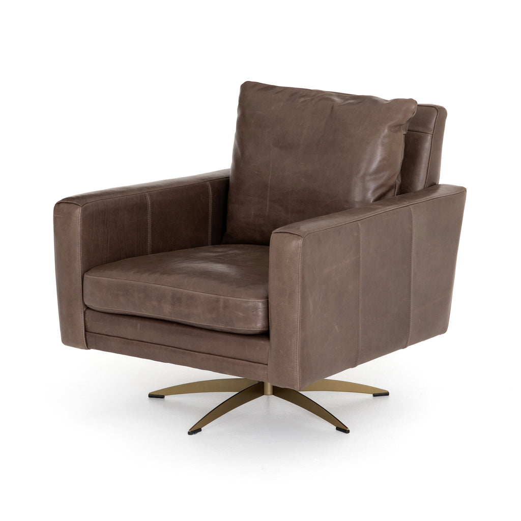 Lyndon Swivel Chair-Dakota Fossil