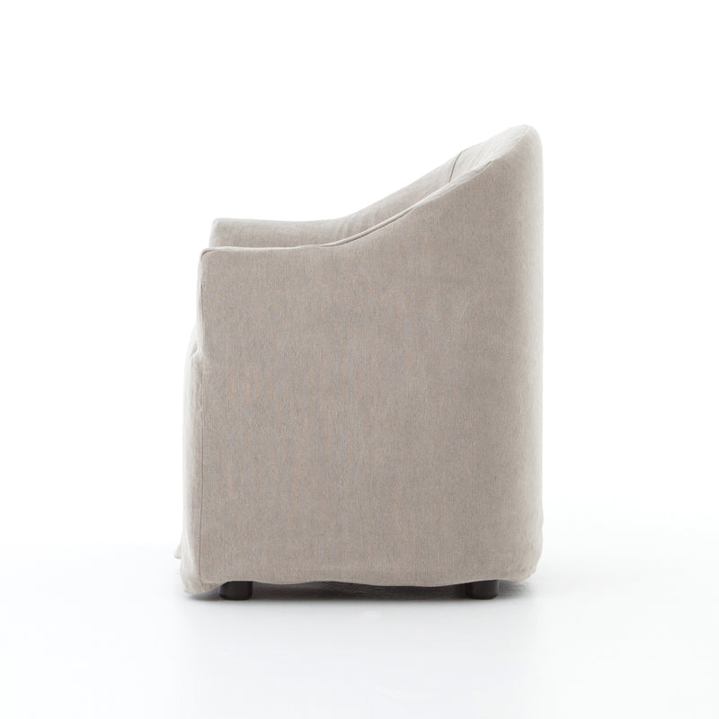 Cove Dining Chair-Heather Twill Stone