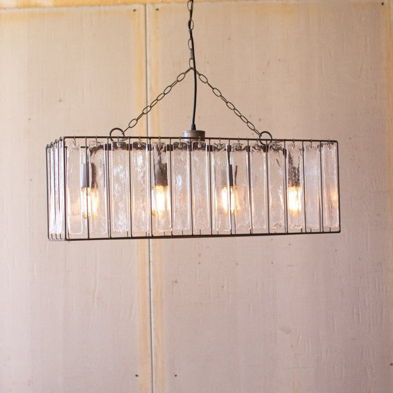 Carillon Rectangle Chandelier