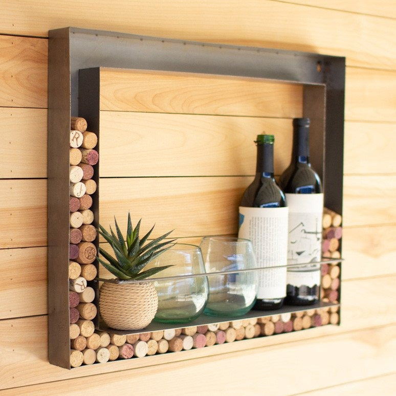 Korek Wall Bar & Cork Holder