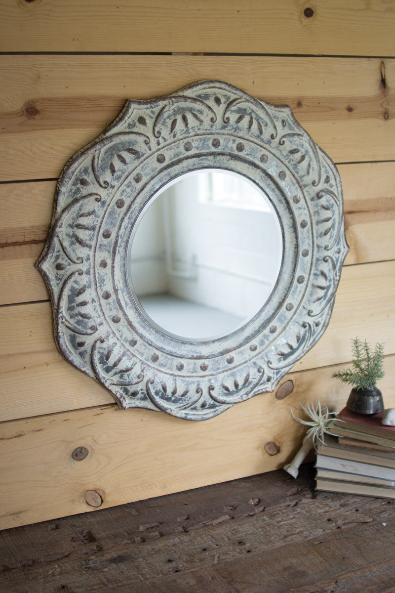 Magnolia Wall Mirror
