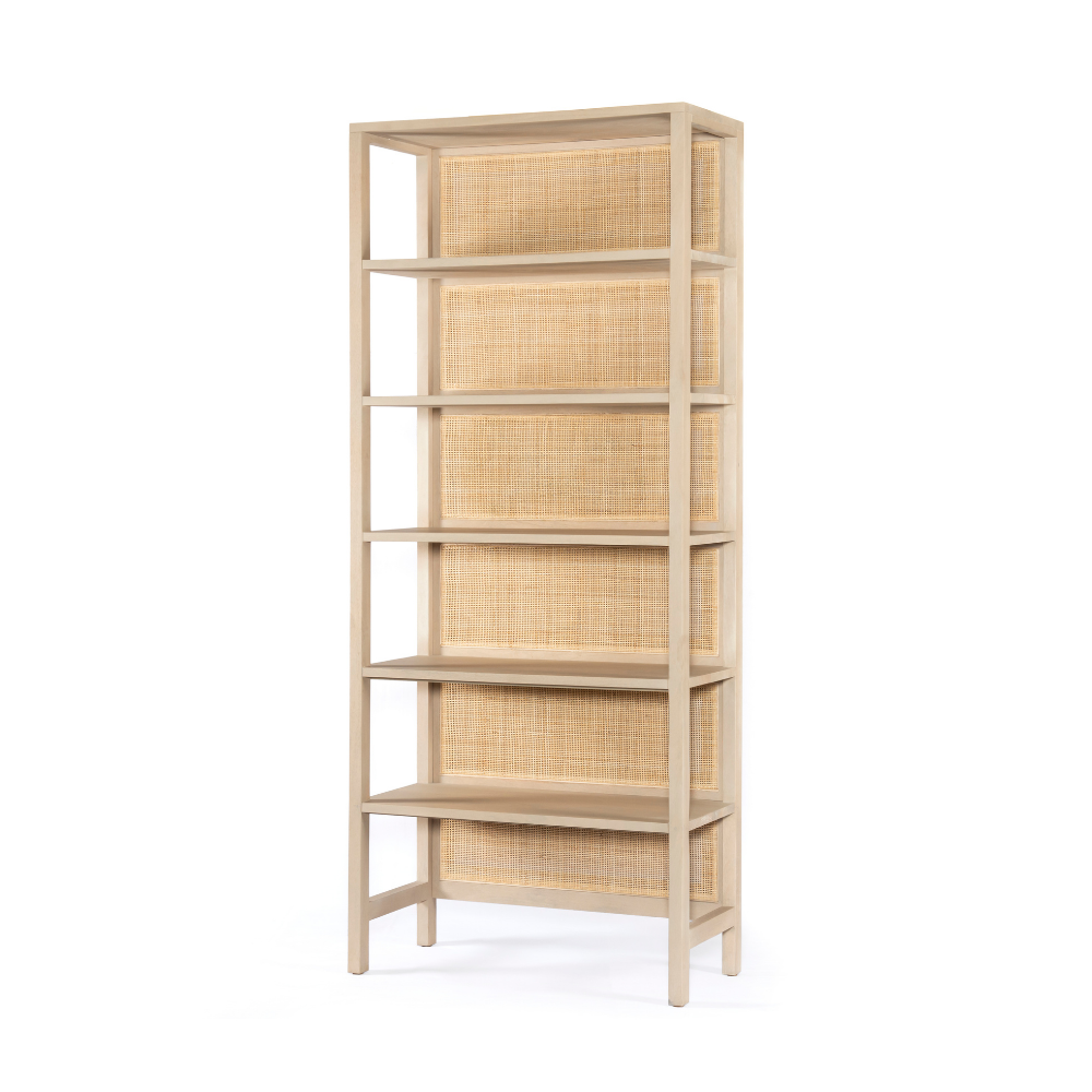 Caprice Large Bookshelf-Natural Mango