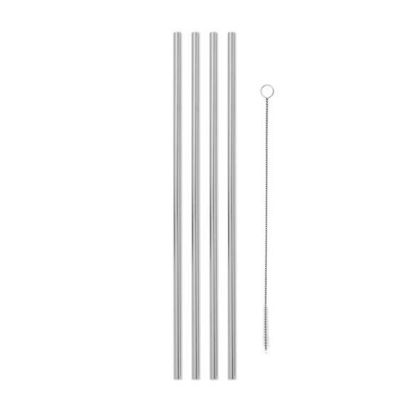 Porter Metal Straws w/ Cleaner