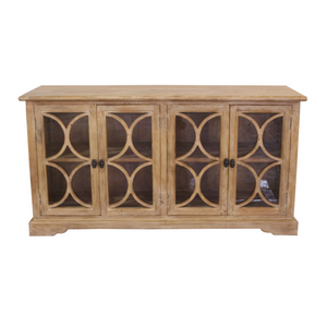 Palmer Wide Glass Cabinet