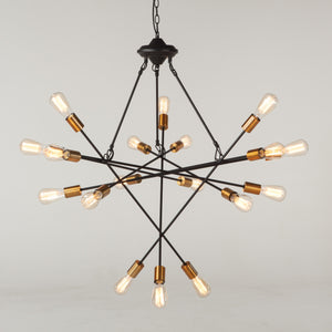Crick Black Metal Ceiling Light