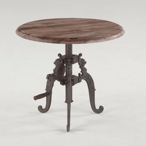 Lafayette Adjustable Crank Side Table