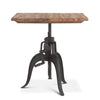 Hoover Mason Teak Crank Dining Table