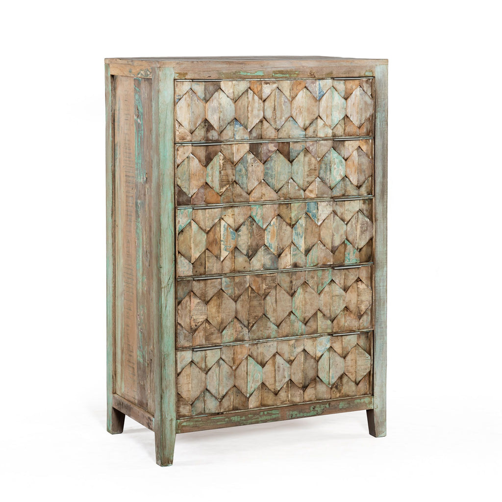 Wildwood 5-Drawer Tall Chest