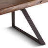Lehigh Loft Live-Edge Dining Table