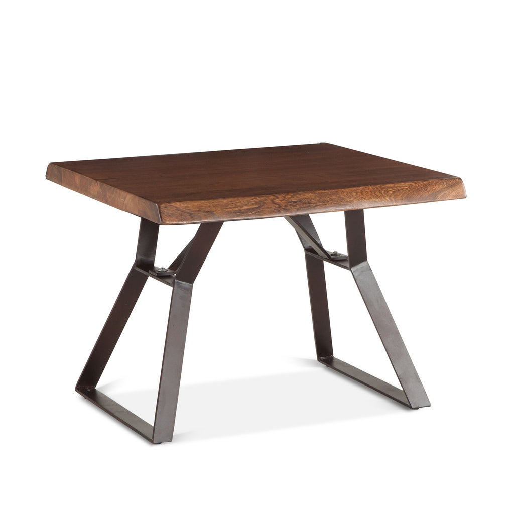Lehigh Loft Live-Edge Side Table