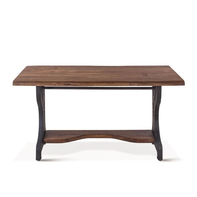 Live Edge Table Office Desk Acacia Wood Industrial Organic Lehigh Valley Furniture Store