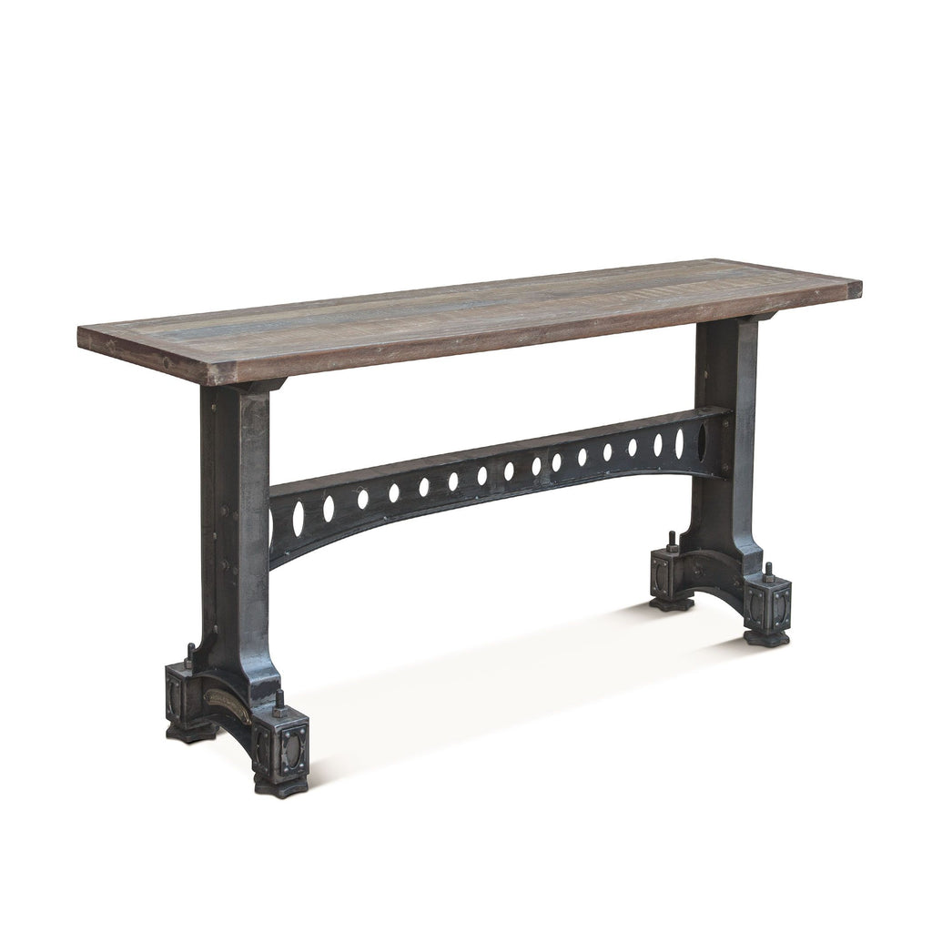 Officer Mess Industrial Cast Iron Console Table