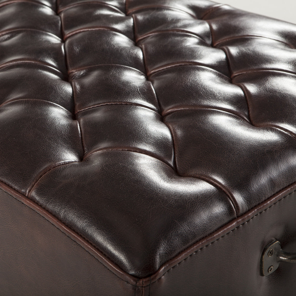 D'Orsay Leather Bench