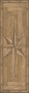 Lehigh Valley Furniture Flooring Vinyl Floorcloth Parquet Wood Moravian Star Bethlehem Star Inlaid Pet Friendly Kid Friendly Rug