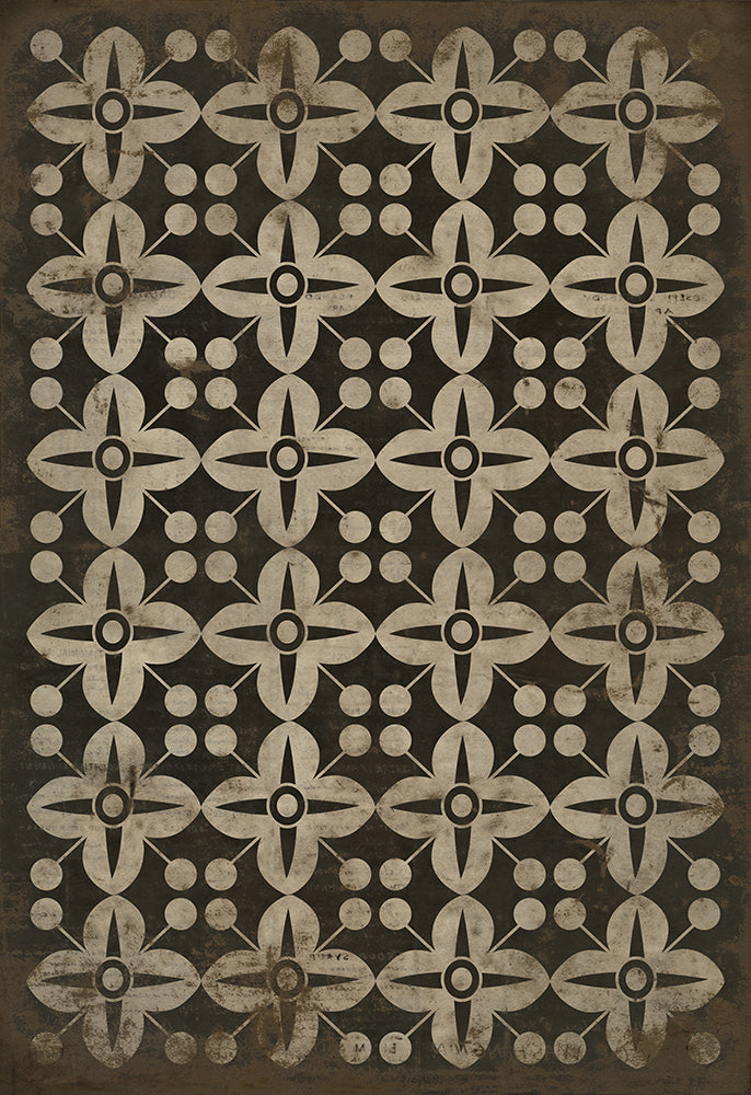 Lehigh Valley Furniture Flooring Vinyl Floorcloth Vintage Linoleum Pet Safe Kid Friendly Rug Outdoor There's No Place Like Home