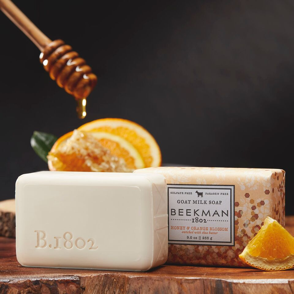 Honey & Orange Blossom Goat Milk Bar Soap