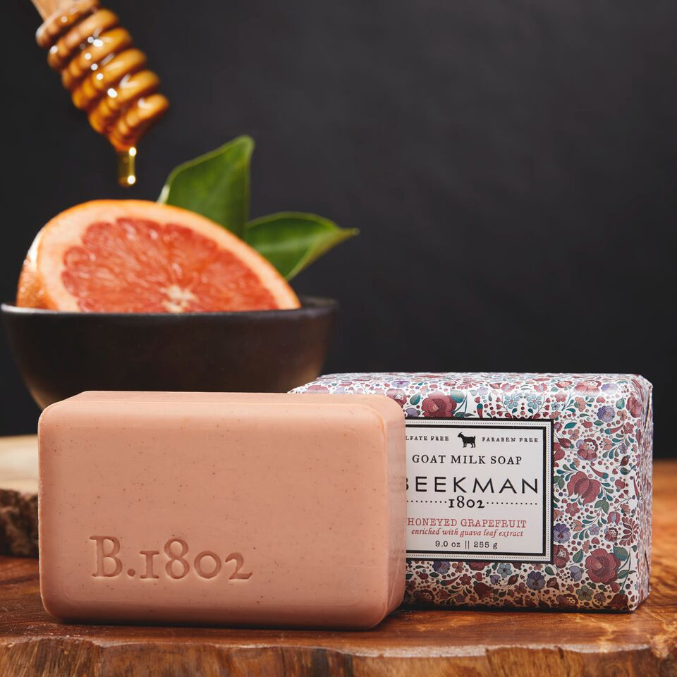 Honeyed Grapefruit Awakening Goat Milk Bar Soap