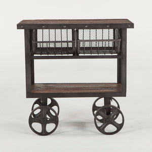 Hoover Mason Two-Drawer Cart