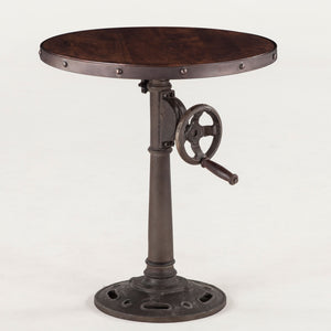Hoover Mason Crank Side Table