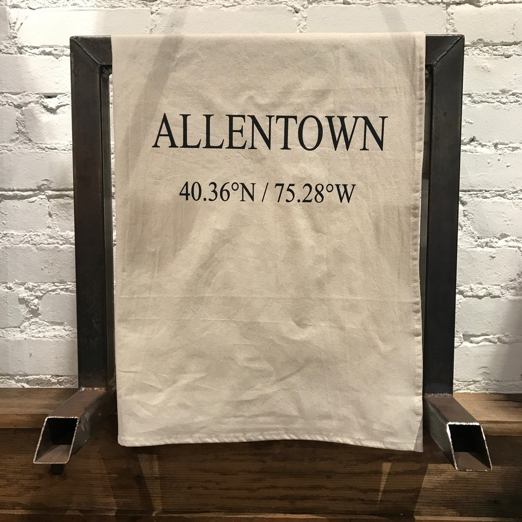 Allentown Coordinates Tea Towel