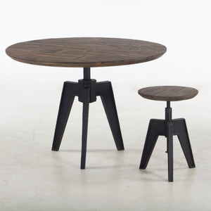 Carnegie Adjustable Stool
