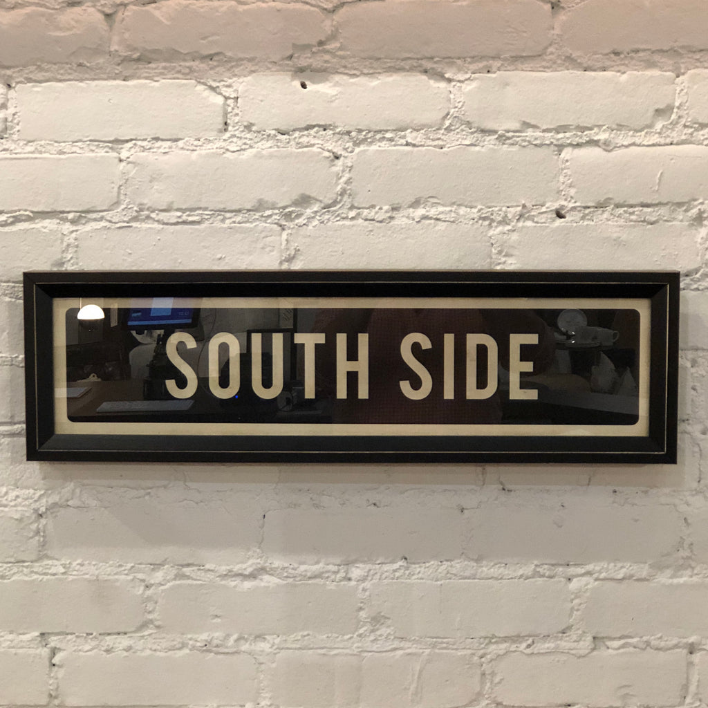 South Side Street Sign Wall Art