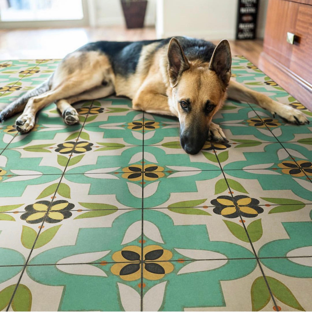 Lehigh Valley Furniture Flooring Vinyl Floorcloth Pet Safe Kid Friendly Rug Vintage Tile Pennsylvania Dutch