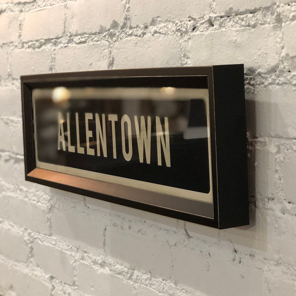 Allentown Street Sign Wall Art