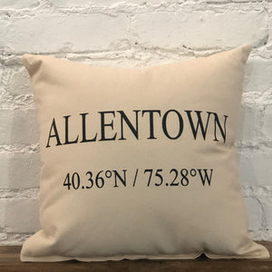 Allentown Coordinates Pillow