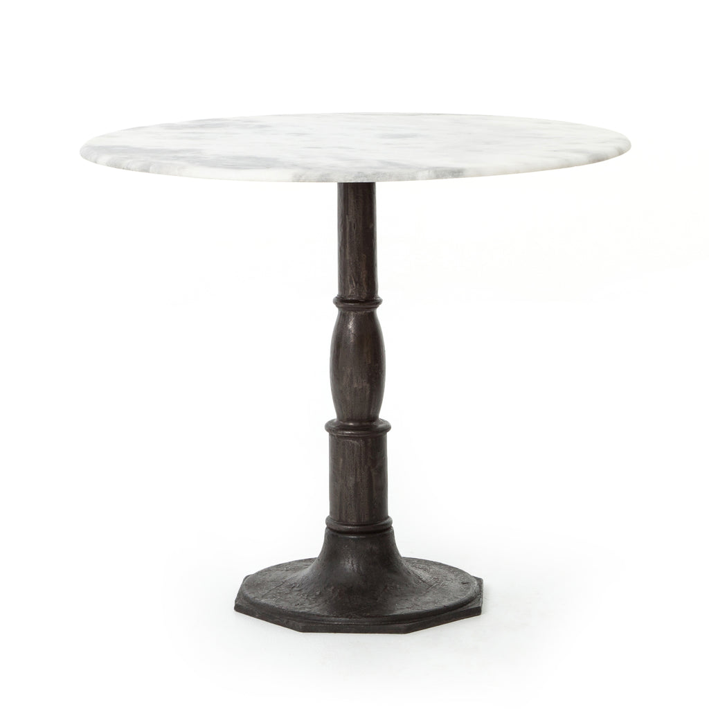 Lucy Bistro Table-36-Carbon Wash