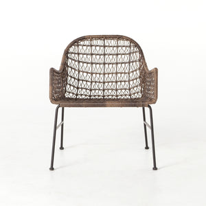 Bandera Outdoor Woven Club Chair