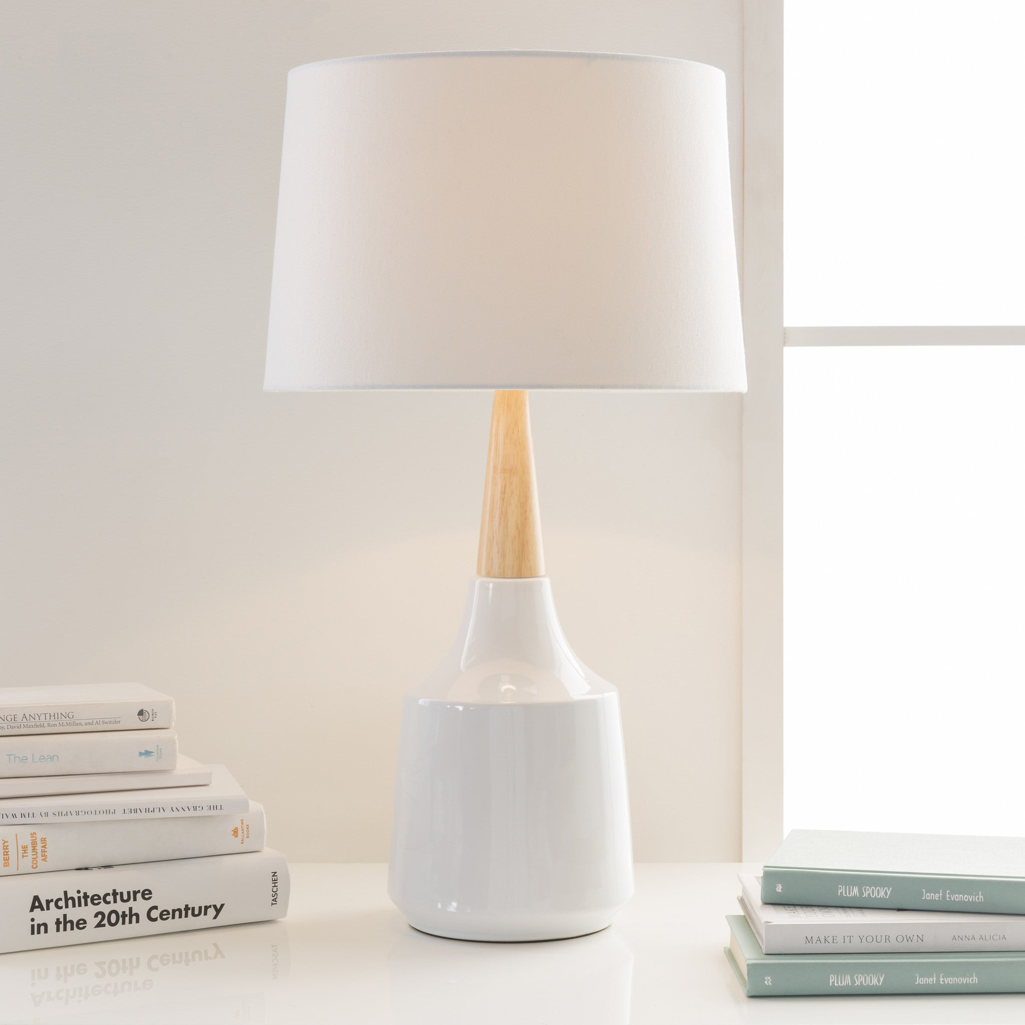 Table lamps domaci kent white table lamp geotapseo Images