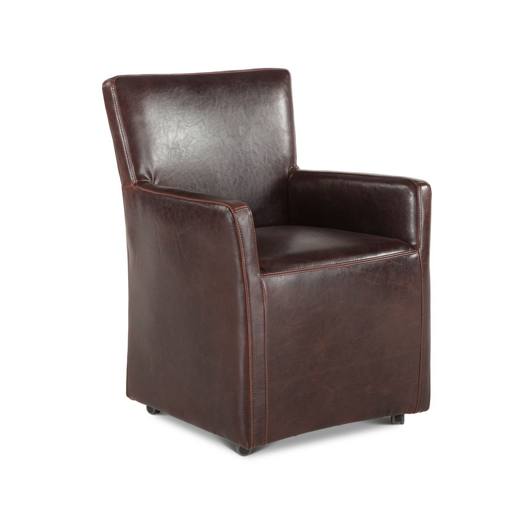 Peabody Rolling Arm Chair