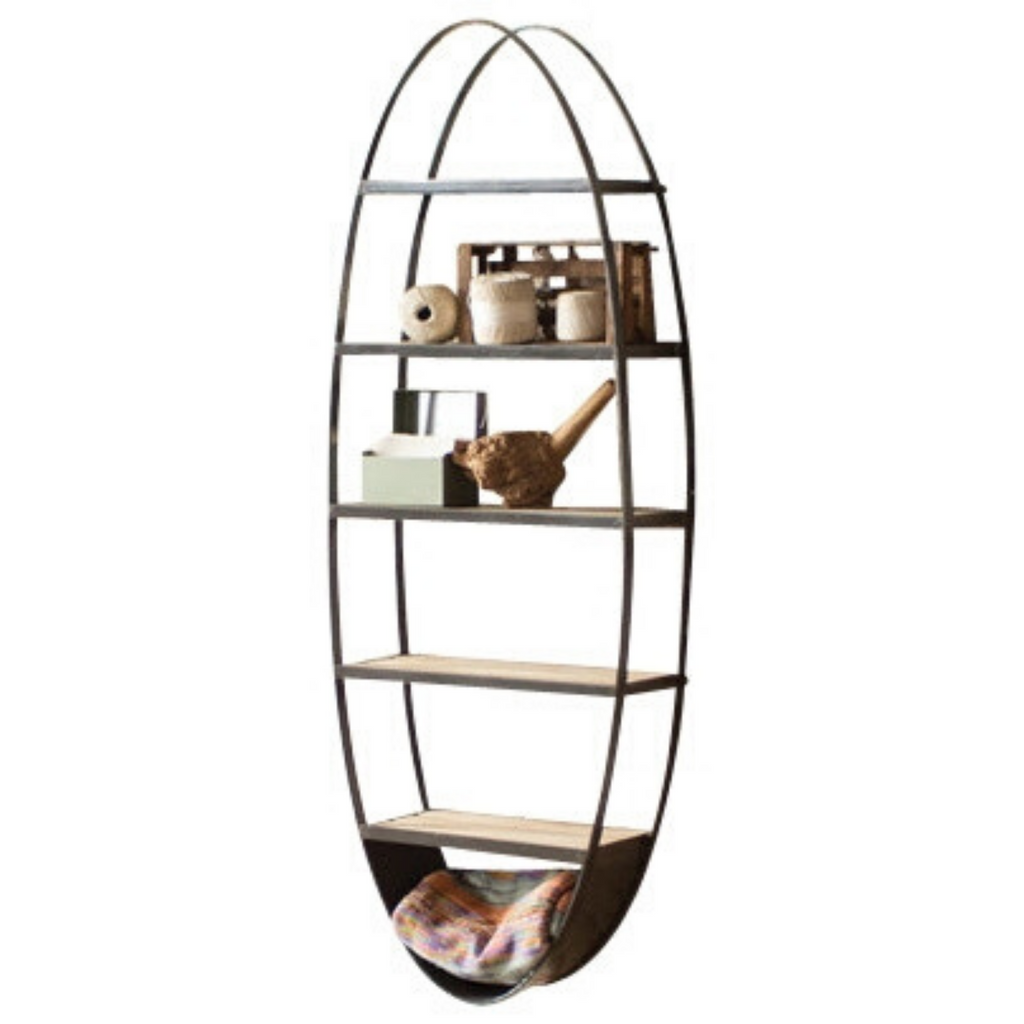 Terra Oval Wall Shelf