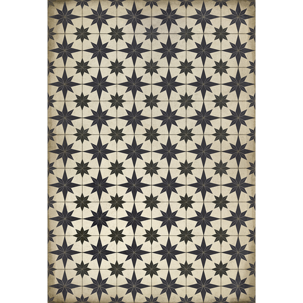 "Pattern 20 ""Astraea"" Vinyl Floorcloth"