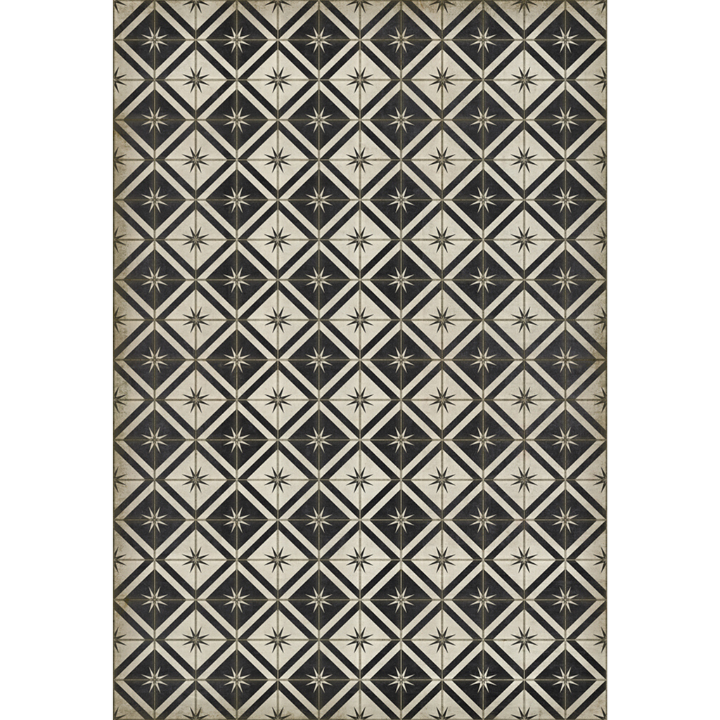 "Pattern 20 ""Stark"" Vinyl Floorcloth"