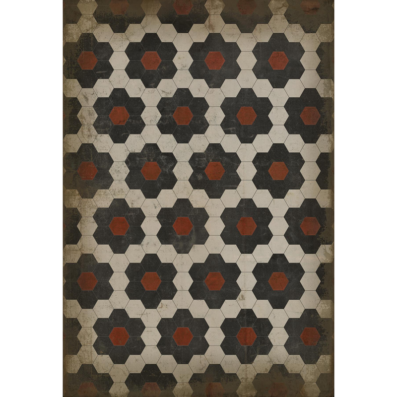 "Pattern 02 ""Organic Synthesis"" Vinyl Floorcloth"