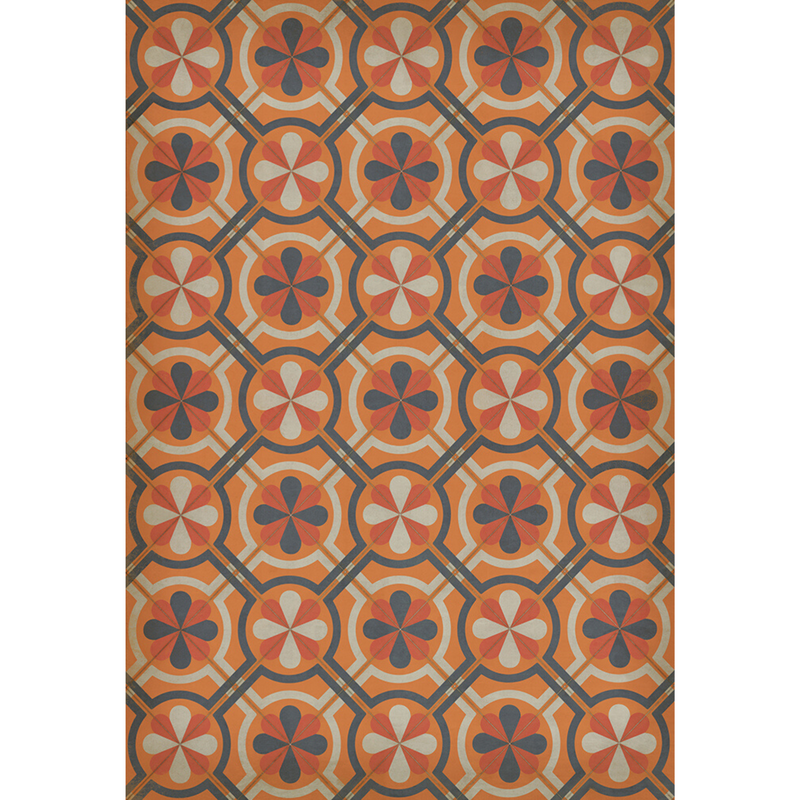 "Pattern 19 ""Faraday"" Vinyl Floorcloth"
