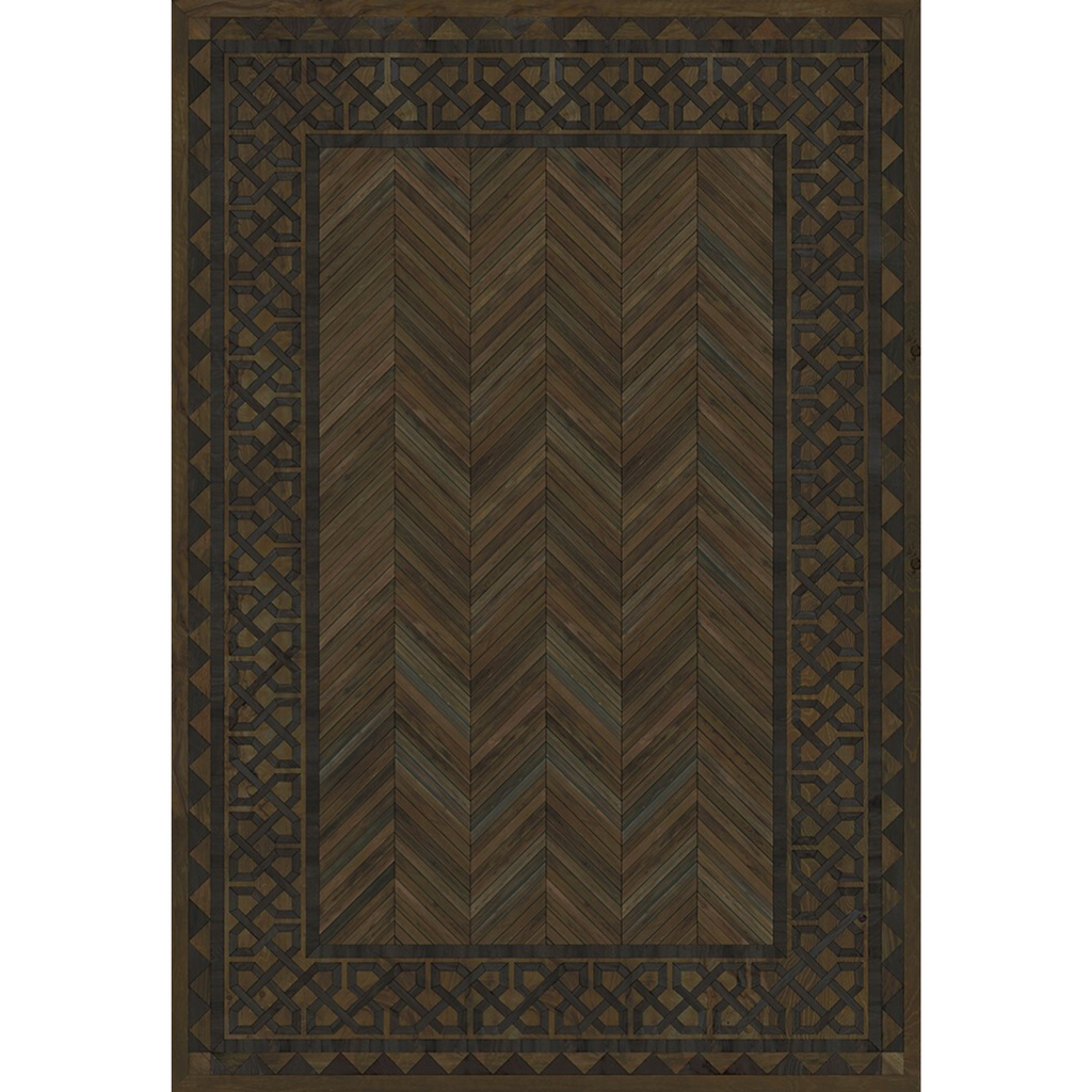 "Artisanry University ""Princeton"" Vinyl Floorcloth"